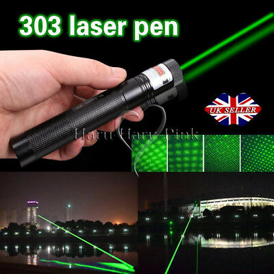 New 1MW Green Laser Military Lazer Pointer Pen High Power Professional 532nm UK
