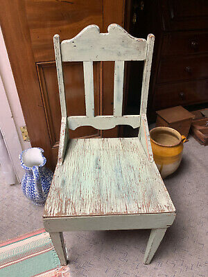Australian Pine DINING TABLE KITCHEN CHAIR depression era rustic country antique