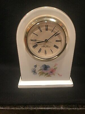 """Hornsea for Seth Thomas Ceramic Mantle Clock 281 """"Coventry"""" Case Made in England"""