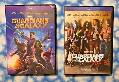 Guardians of the Galaxy Volume 1 & Volume 2  2-DVD Bundle - Free USPS Shipping