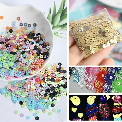 Home Decor DIY Jewelry Shiny Wedding Loose Sequin Sewing Paillette Faceted Bead