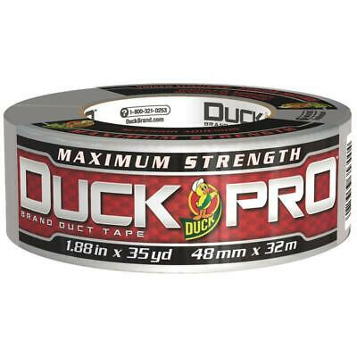 Precise Duck 240201 Maximum Strength Duct Tape 11.5mil 1.88 In X 45yd 3 In Core Silver