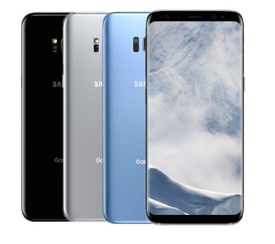 """6.2"""" Samsung Galaxy S8+ G955U Android 64GB T-Mobile AT&T GSM Unlocked Cellphone"""