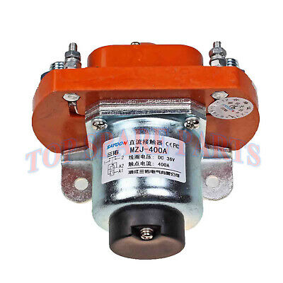 Main Contactor Solenoid MZJ-400A 36 Volt 400A for Heavy Duty Golf Cart