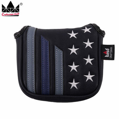 Stars & Stripes High-MOI Mallet Putter Head cover for TaylorMade Spider Tour New