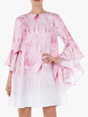 72499debd10c TED BAKER ANGEL Falls Feather Soft Woven Printed Scarf NWOT - £30.00 ...