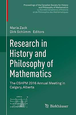 Research in History and Philosophy of Mathematics Maria Zack