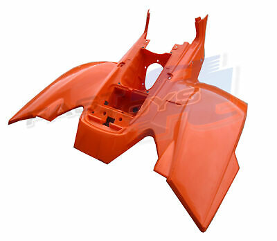 Genuine Quadzilla RAM R250E Orange Rear Plastic Fender