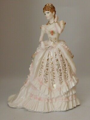 """Royal Worcester Figurine """"the Jewel In The Crown"""" Ltd Ed Of 12,500 Free Uk Post"""