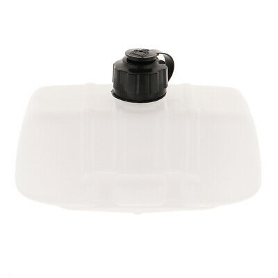 Durable Plastic Replacement Gas Fuel Tank with Cap Lawn Mower Accessories