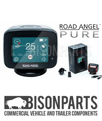 +New Road Angel Pure Speed Camera Detector and Laser Gun Detection GPS WiFi