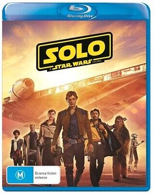Solo - A Star Wars Story Blu-Ray : NEW