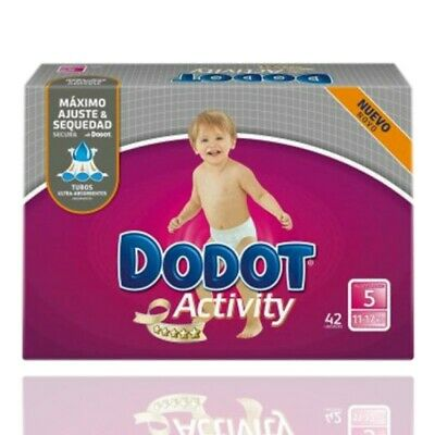 Dodot Activity T5 11-17Kg 42 Uds