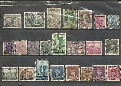 Belgium - Lot Of Old Stamps