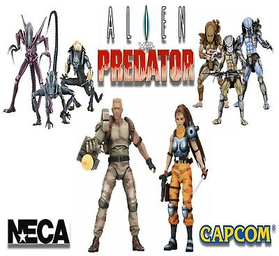 Neca Alien Vs Predator Arcade Appearance Capcom New UK Official Action Figure