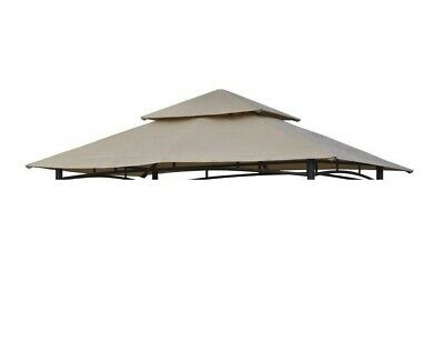 CANOPY ONLY for a B&Q Rowlinson Roma BBQ 2.5m x 1.5m Two Tier Patio Gazebo