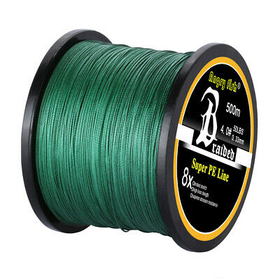 300/500/1000M Braided Fishing Line 4/8 STRANDS Super Strong Monofilament Line US