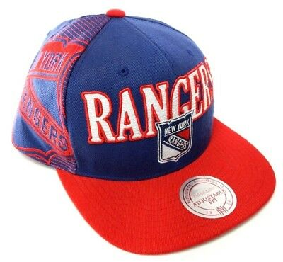 outlet store 44e7f d03ce New York Rangers Mitchell   Ness NHL 2 Tone Snap back Hockey Cap Hat