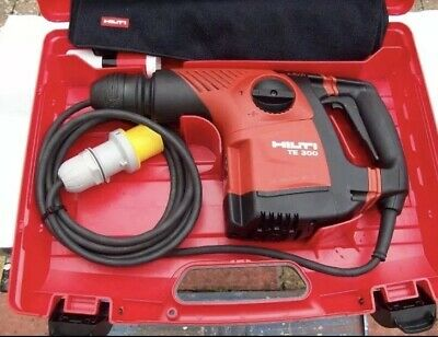 Hilti Te 300 AVR Compact breaker / Chipping hammer / Needle Scaller 110V
