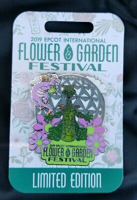 Epcot Flower and Garden Festival 2019 Topiary Figment Disney Pin
