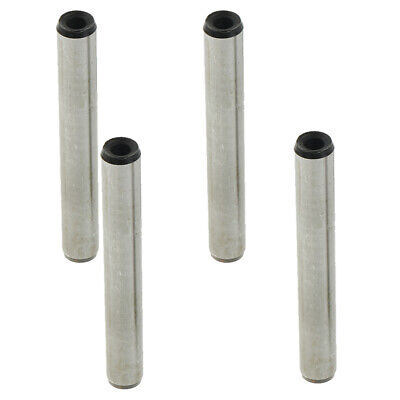 4pcs Stainless Steel Dowel Pins 8mm Dia x 16/12/22/35/55 Length