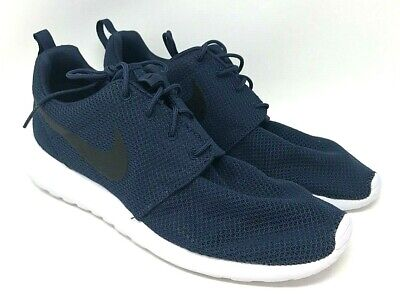 low priced 4104e 3f0a9 Nike Roshe One SIZE 10.5 Midnight Navy Black-White