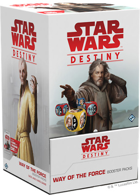 Star Wars Destiny Way of the Force Booster Box Display 36 Packs NEW SEALED