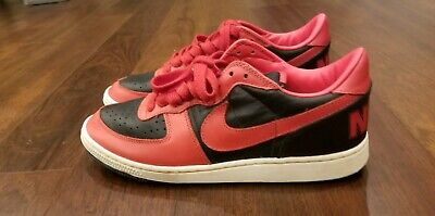 timeless design c102a 76100 NIKE Terminator Low Vintage Sneakers Black Red 2008 Rare US 11 NYC BBall OG