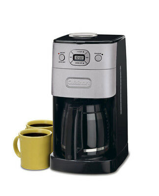 Cuisinart Grind & Brew 12-Cup Automatic Programmable Coffee Maker - Refurbished