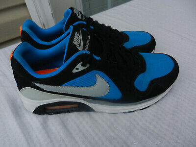 NIKE AIR MAX Trax Lunarlon Blue Black White Running Shoes