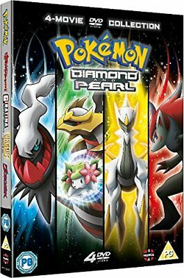Pokemon Movie Diamond  Pearl Collection [DVD]