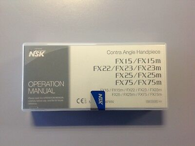Dental Handpiece/Equipment- NSK FX25M Contra Angle Handpiece RRP £250