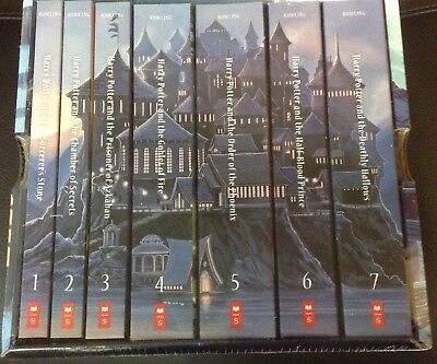 HARRY POTTER Special Edition Paperback Boxed Set NEW Box books 1 - 7 Scholastic