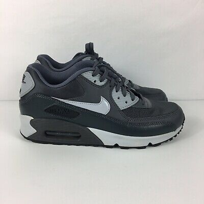 NIKE AIR MAX 90 Essential Dark Grey Wolf Anthracite 616730 030 Womens Size 8 New