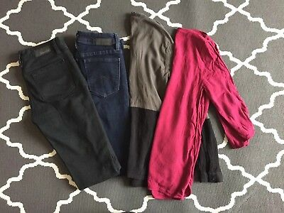 Jeanswest Clothing Bundle - 2 Super Skinny Jeans and 2 Tops - All Size 6