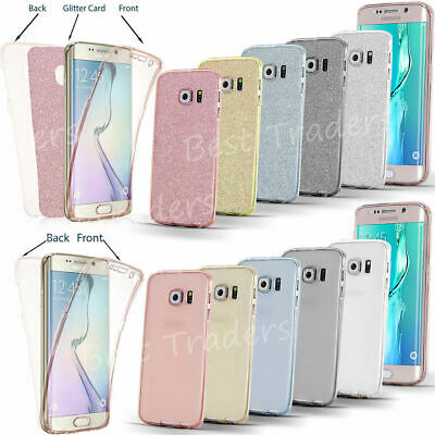 For Samsung Galaxy S9 S8 S10 Plus 360°Shockproof Full Body Hybrid Tpu Case Cover