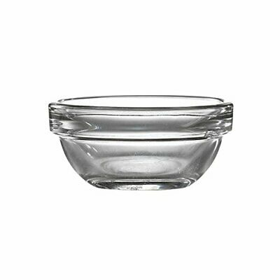 Genware NEV-44817 Stacking Glass Ramekin, 7.5 cm, 7.5 cl2.75 oz. Pack of 6