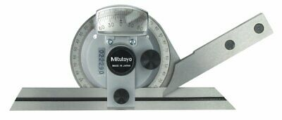 "Mitutoyo 187-907 Bevel Protractor Set, 6""/150mm"