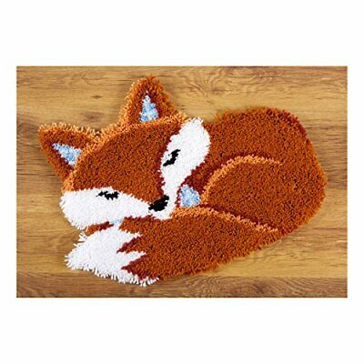 Vervaco Latch Hook Shaped Rug Sleeping Fox