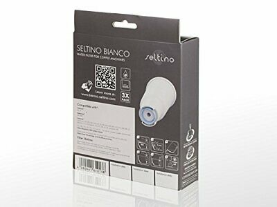 6x Seltino BIANCO - water filter replacement for JURA CLARIS WHITE. Filter cartr