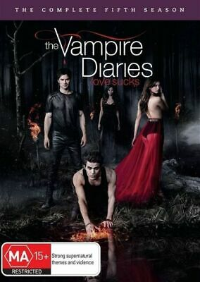 Vampire Diaries : Season 5 (DVD, 5-Disc Set) NEW