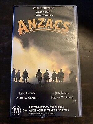 Anzacs VHS Video Tapes