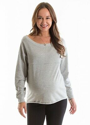 New - Lait & Co - Marne Maternity & Nursing Sweater - Feeding Top