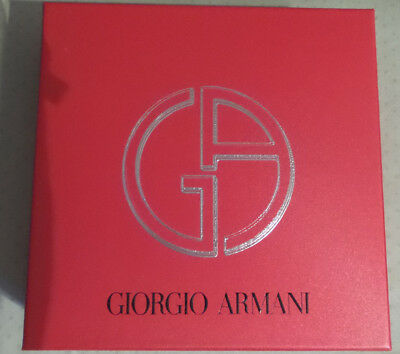 c0228b80d1db GIORGIO ARMANI parfums red make up cosmetic bag clutch pouch VIP ...