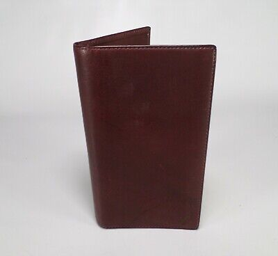 1094cc1cdf8 Tiffany   Co Leather Telephone Address Book Planner Organizer Wallet Brown