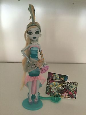 Monster High Dawn of the Dance Lagoona Blue Doll First Edition