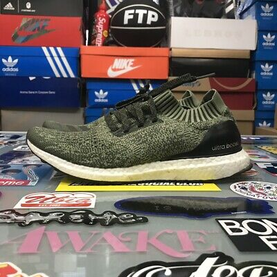 c9de06895 Adidas Ultra Boost Uncaged Olive Green Size 10 Pre Owned VNDS