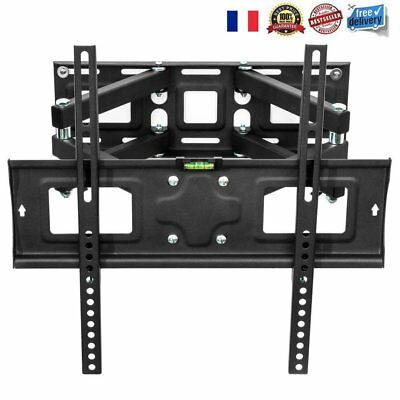"""Support TV mural muraux orientable et inclinable LCD 3D LED 26"""" - 55"""" 50kg FR"""