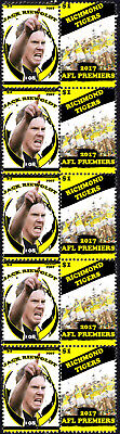 Jack Riewoldt Richmond Tigers 2017 Afl Grand Final Mint Stamp Strip