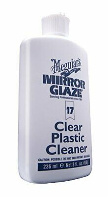 Meguiar'S M17 Mirror Glaze Clear Plastic Cleaner - 8 Oz.